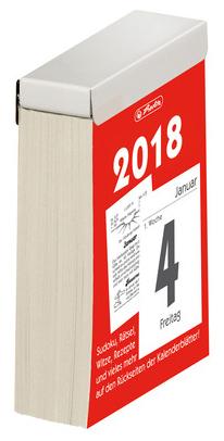 herlitz Tages-Abreißkalender Nr.4, 2018
