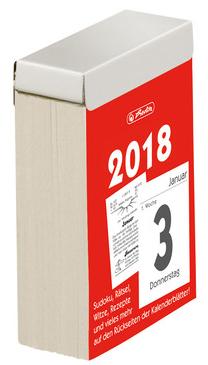 herlitz Tages-Abreißkalender Nr.3, 2018