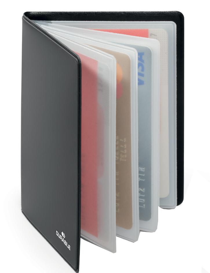 DURABLE Ausweis- und Kreditkarten-Etui ´RFID SE...
