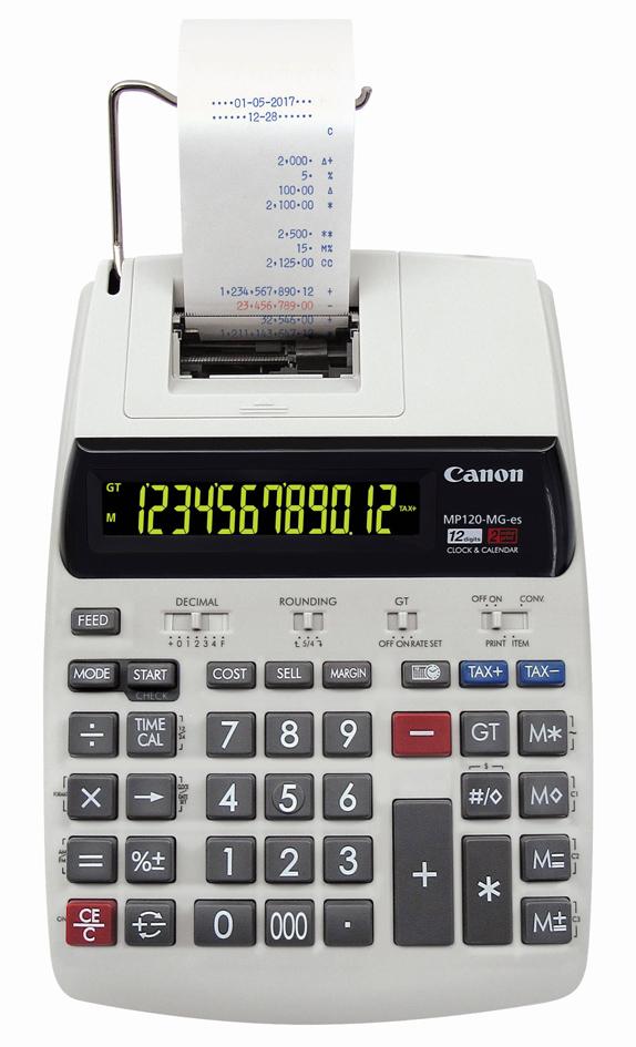 Canon druckender Tischrechner MP-120 MG-ES II