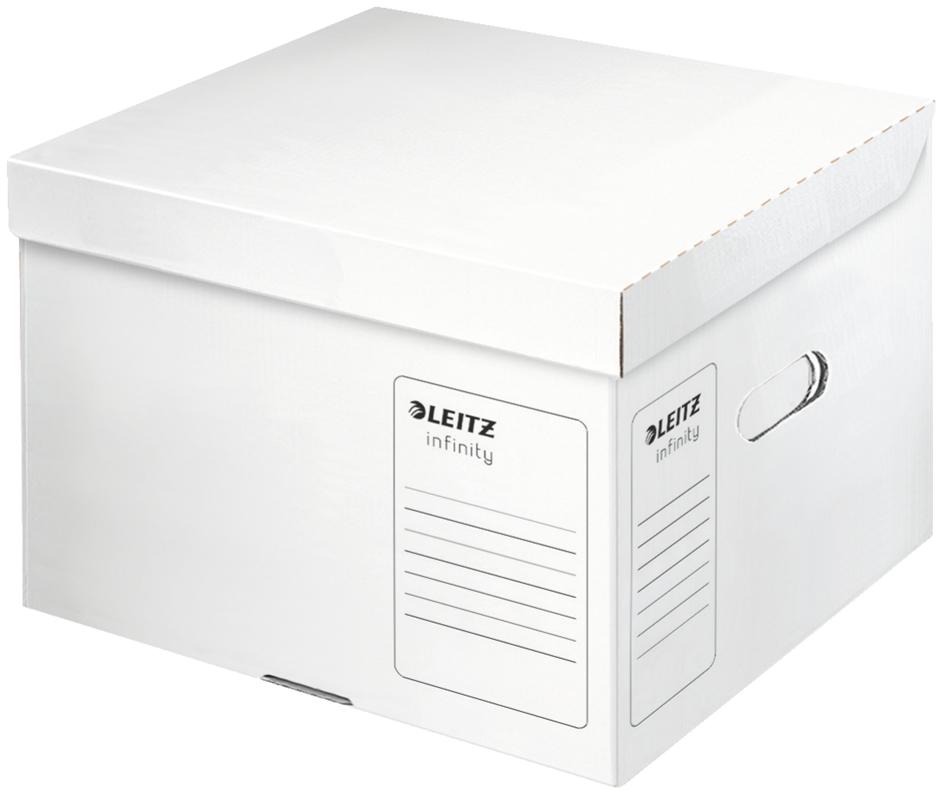 LEITZ Archiv-Klappdeckelbox Infinity, säurefrei...