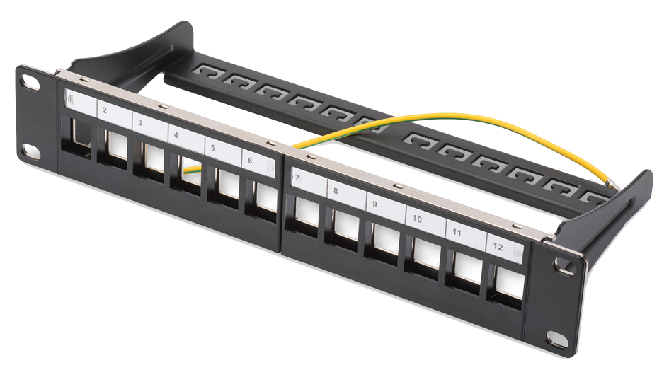 DIGITUS 10´ Modular Patch Panel für Keystone Mo...