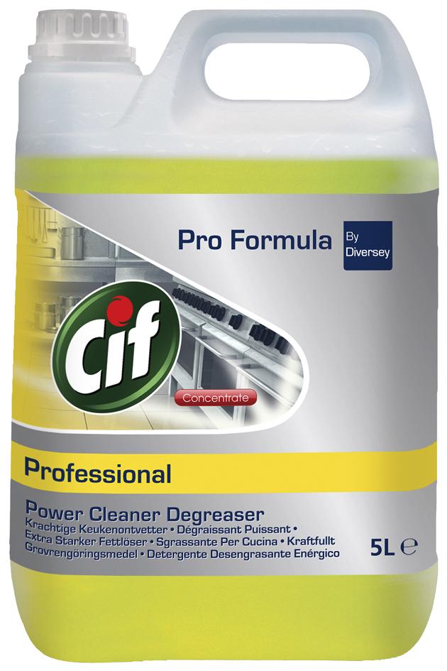 Cif Professional Power Fettlöser-Konzentrat, 5 ...