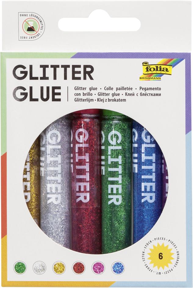 folia Glitzerkleber ´Glitterglue´, 9,5 ml, farb...