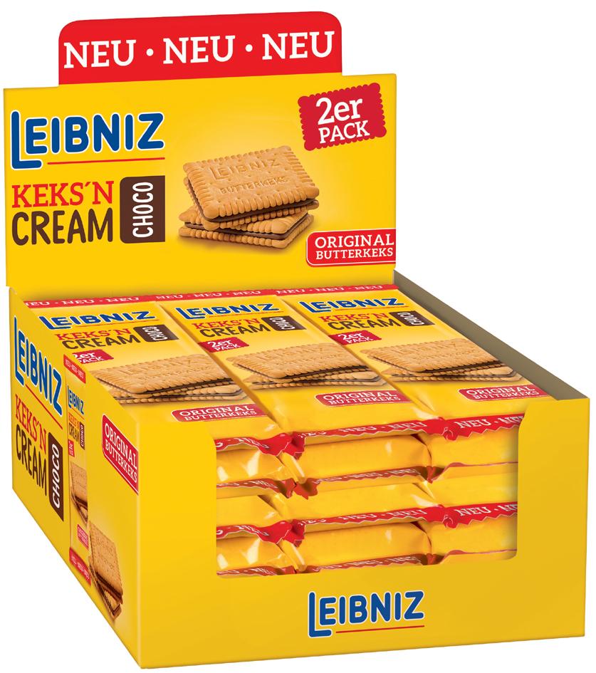 Restposten: LEIBNIZ ´Keks ´n´ Cream Choco´, im ...
