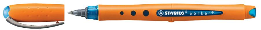 STABILO Tintenroller worker medium, blau
