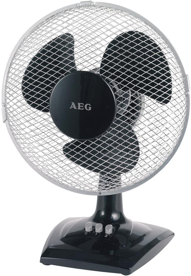 AEG Tisch-Ventilator VL 5528, Durchmesser: 230 mm, schwarz