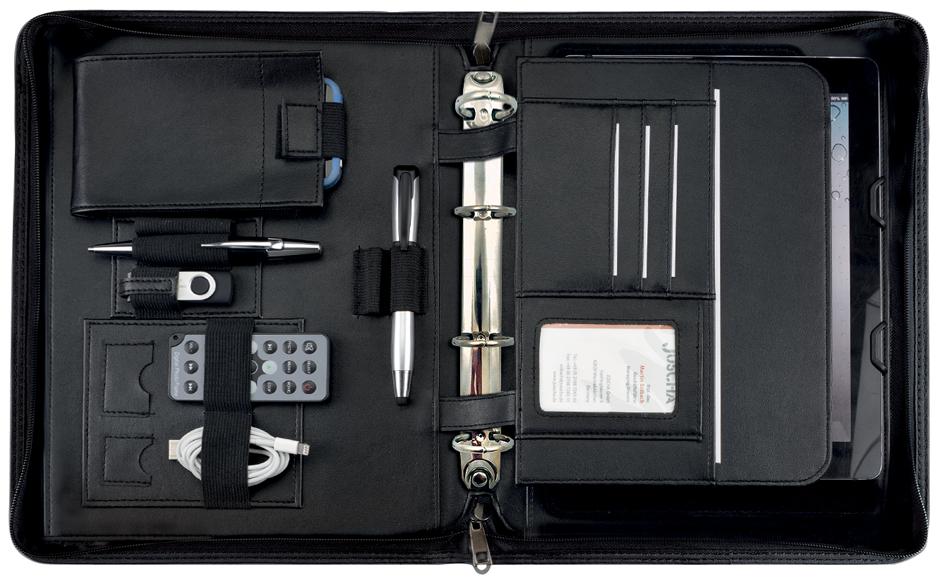 Alassio Tablet-PC Organizer ´PIEMONTE´, DIN A5, schwarz