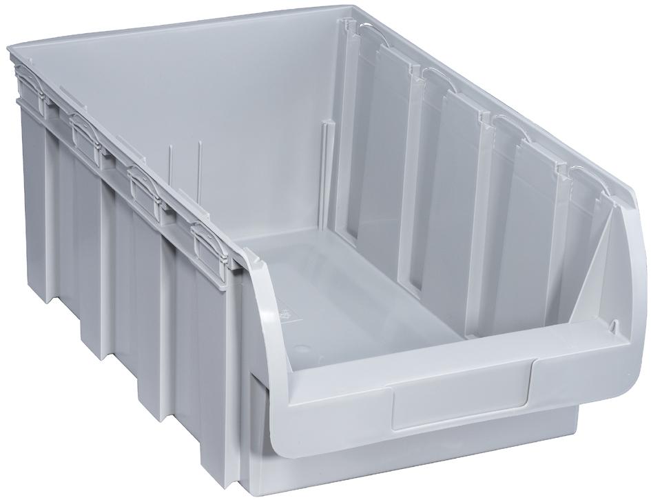 allit Sichtlagerkasten ProfiPlus Compact 5, aus PP, grau