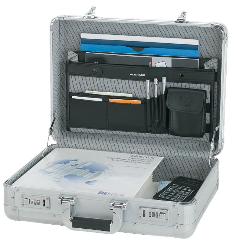 ALUMAXX Attaché-Koffer ´TAURUS´, Aluminium, silber