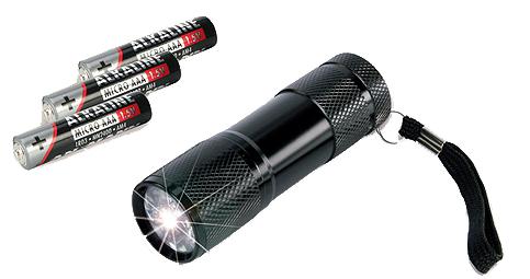 ANSMANN LED-Taschenlampe ´ACTION 9´, mit Batterien