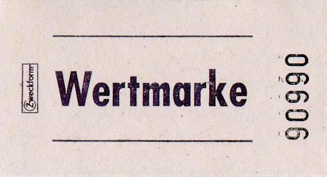 AVERY Zweckform Bon-Rollen Wertmarken, 57 x 30 ...