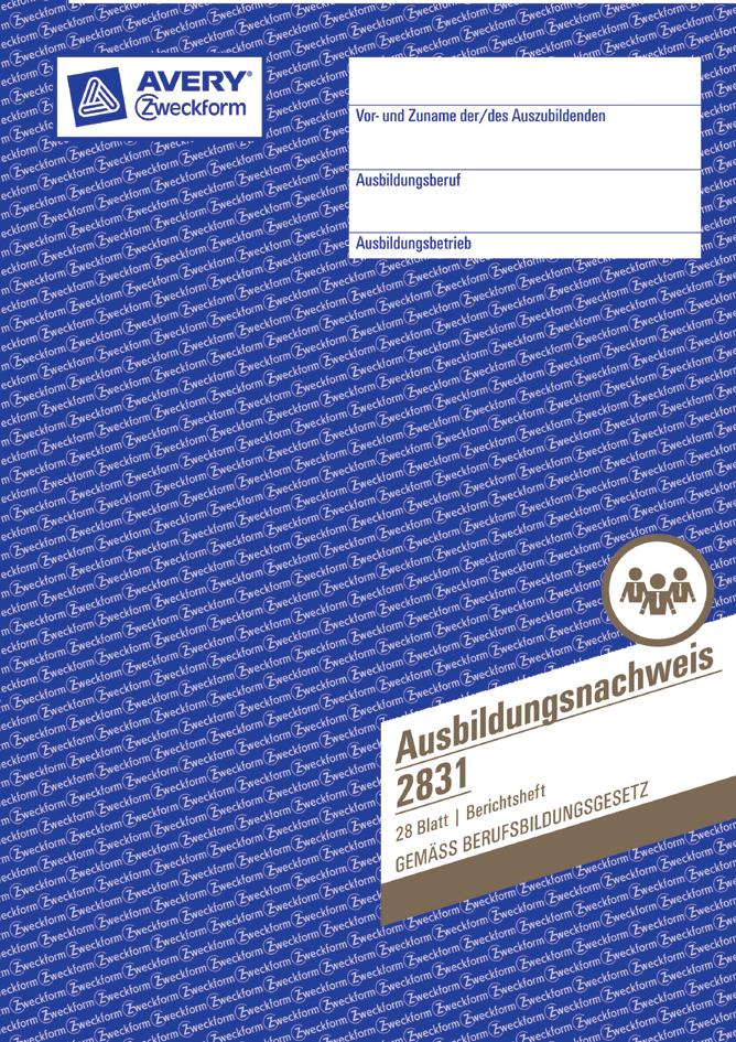 AVERY Zweckform Formularbuch ´Lohnarbeit-Nachweis´, SD, A5