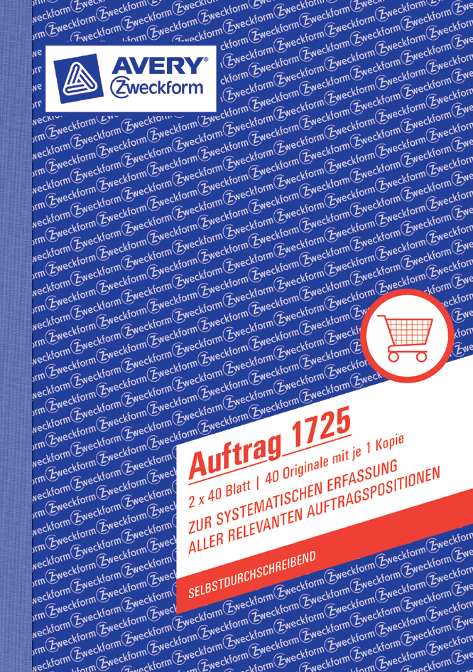 AVERY Zweckform Formularbuch ´Materialanforderu...