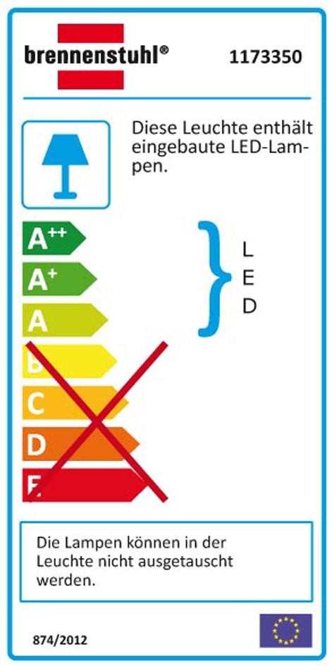 brennenstuhl Power-LED-Leuchte L2705, mit Bewegungsmelder