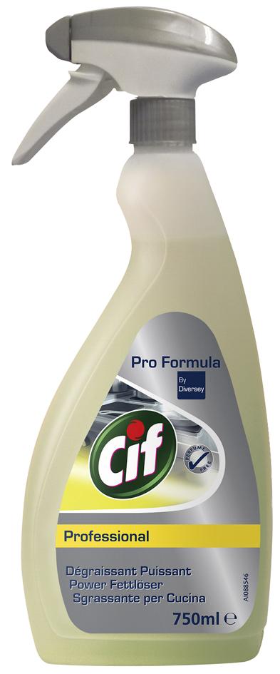 Cif Professional Power Fettlöser, 750 ml Sprühf...