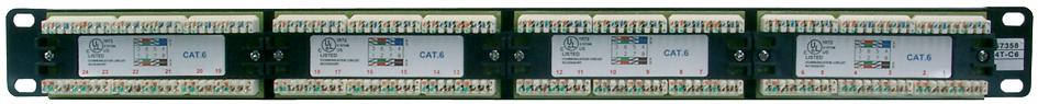 DIGITUS 19´ Patch Panel Kat.5e, Klasse D, 24 x ...