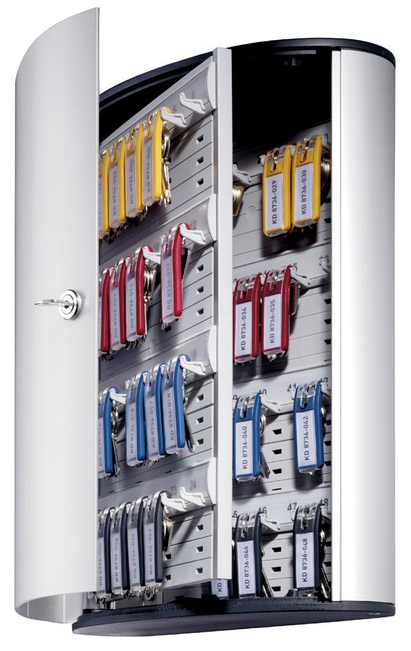 DURABLE Schlüsselkasten KEY BOX 48, für 48 Schlüssel