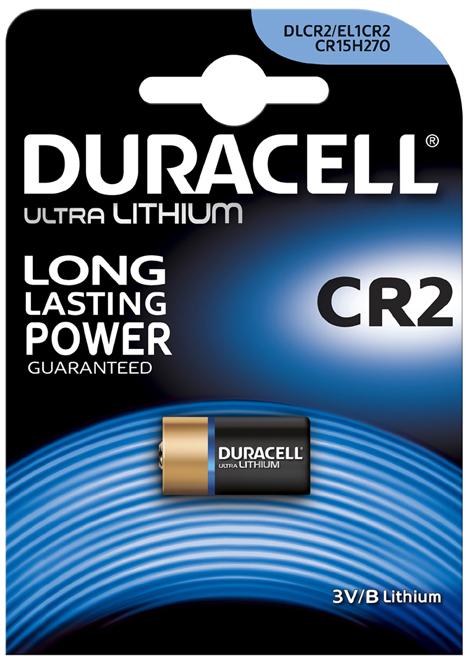 DURACELL Foto-Batterie ´ULTRA´, Lithium, CR2, 2...