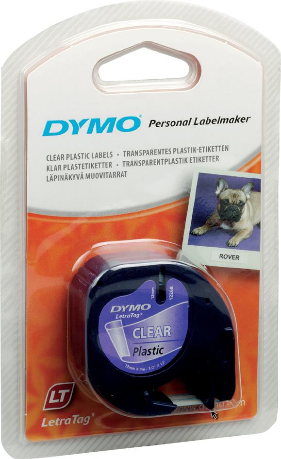 DYMO LetraTag Schriftbandkassette, Metallic, 12 mm x 4 m