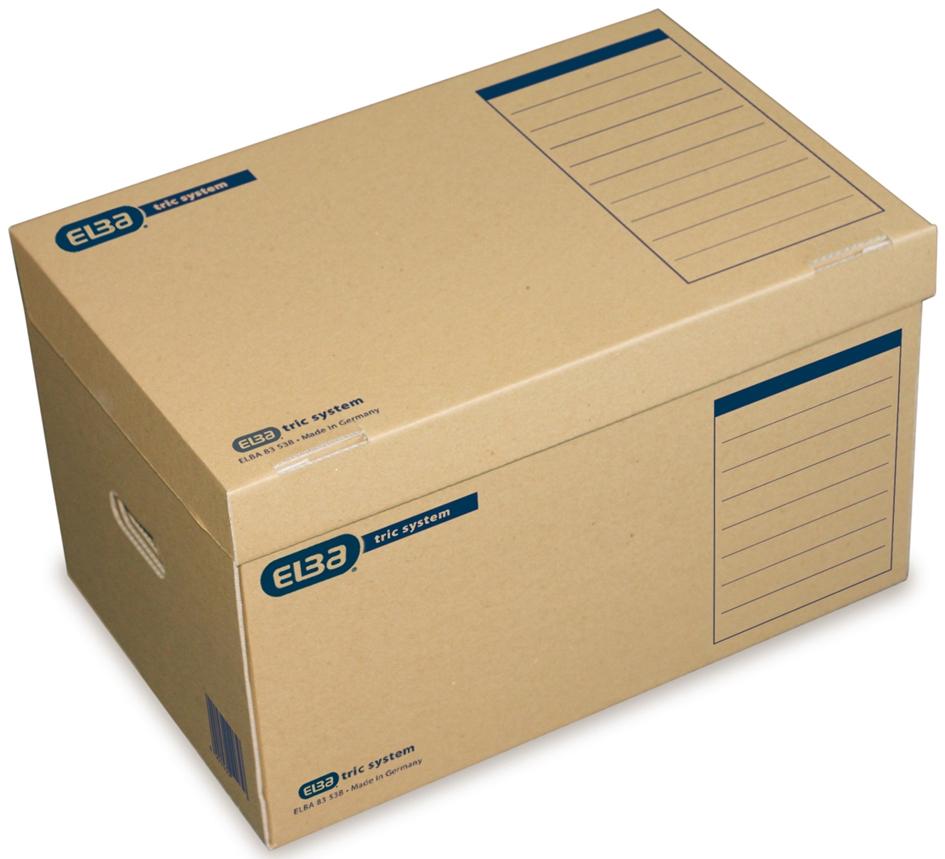 ELBA Archiv-Container tric System, mit Deckel, ...