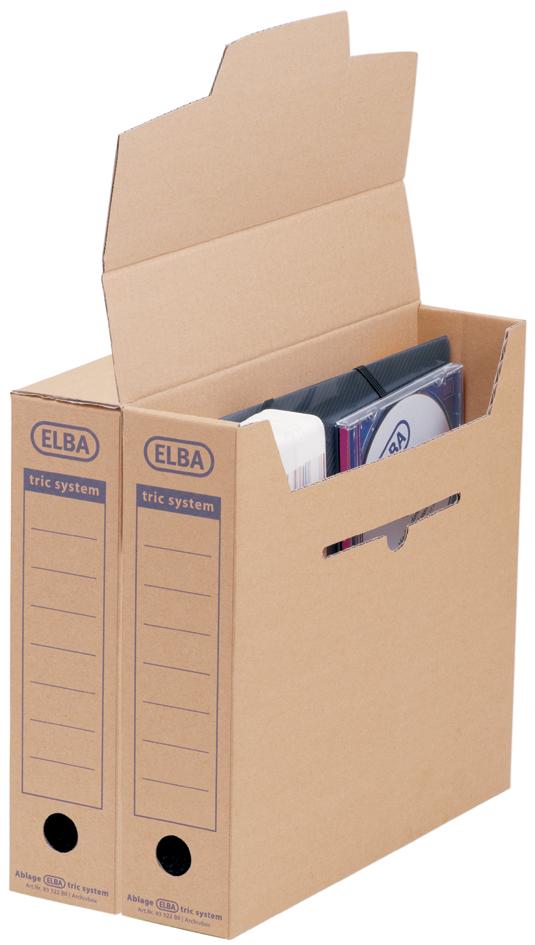 ELBA Archiv-Schachtel standard tric System, nat...