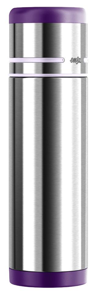 emsa Isolierflasche MOBILITY, 0,70 Liter, schwarz-anthrazit