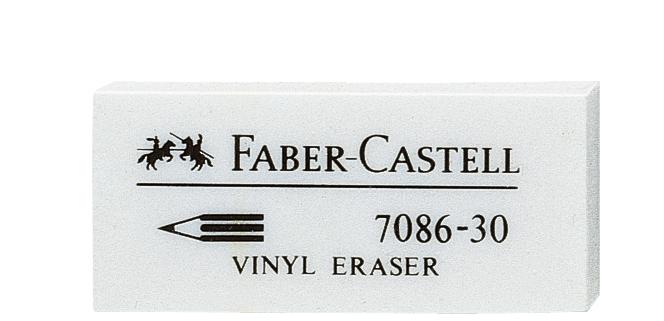 FABER-CASTELL Kunststoff-Radierer 7086-30