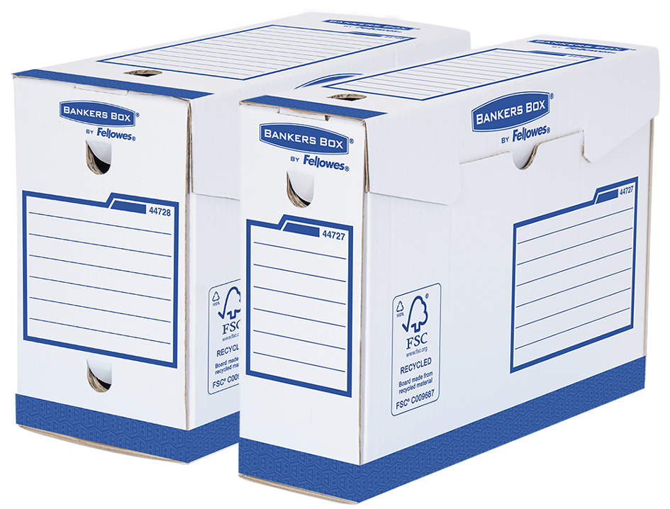 Fellowes BANKERS BOX Basic Archiv-Schachtel Hea...
