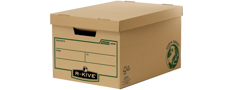 Fellowes BANKERS BOX EARTH Große Archiv-/Transp...