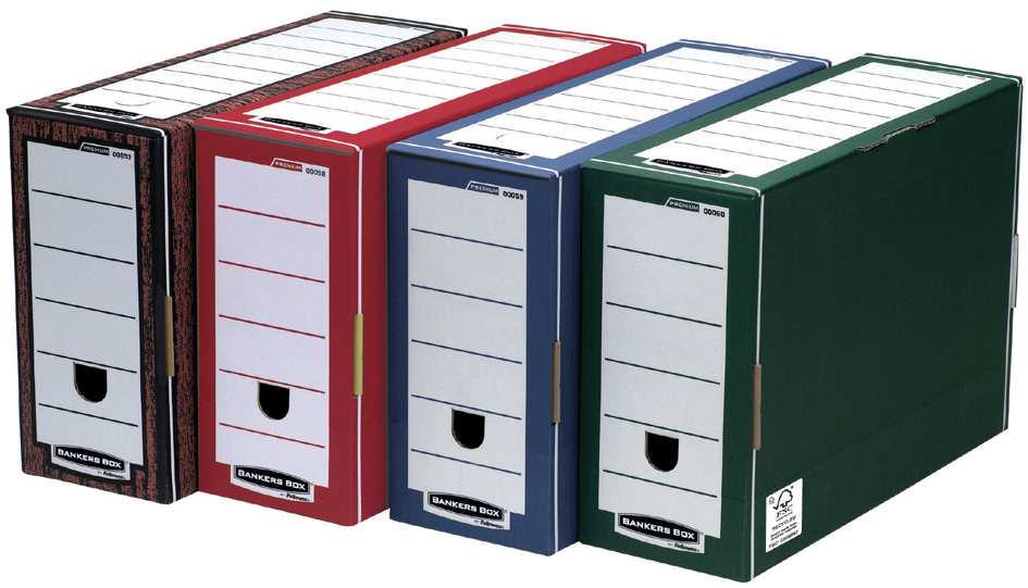 Fellowes BANKERS BOX PREMIUM Archiv-Schachtel, ...