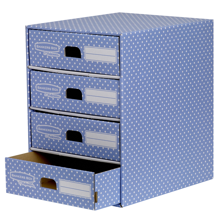 Fellowes BANKERS BOX STYLE Archiv-Schubladenbox...