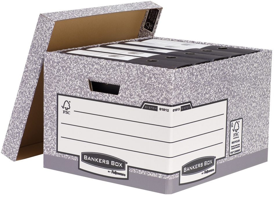 Fellowes BANKERS BOX SYSTEM Archivbox Heavy Dut...