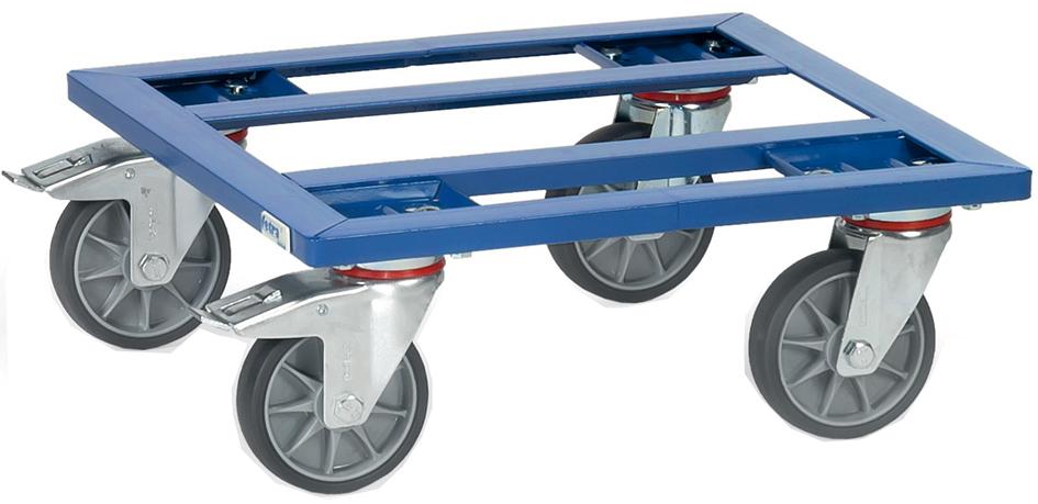 fetra Transportwagen, mit offenem Rahmen aus Winkelstahl