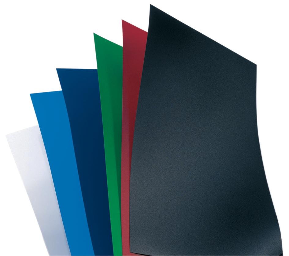 GBC Einbanddeckel PolyOpaque, DIN A4, 0,30 mm, schwarz