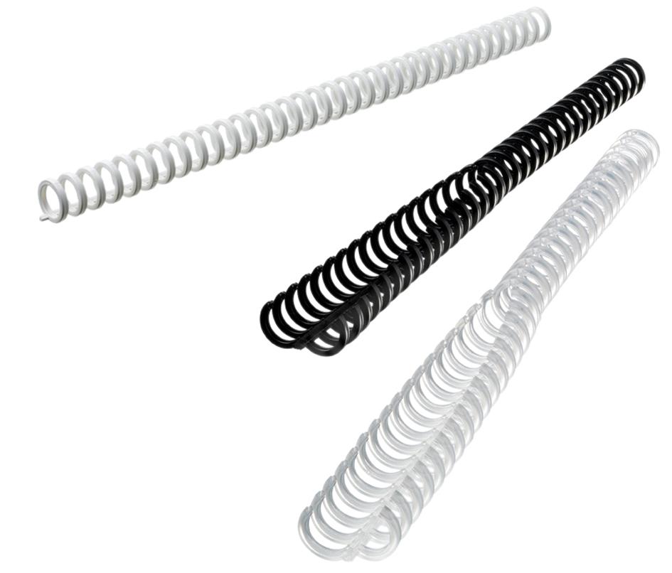 GBC Plastikbinderücken ClickBind, DIN A4, 8 mm, schwarz