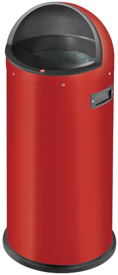 Hailo Abfalleimer Quick XL, rund, 48 Liter, rot