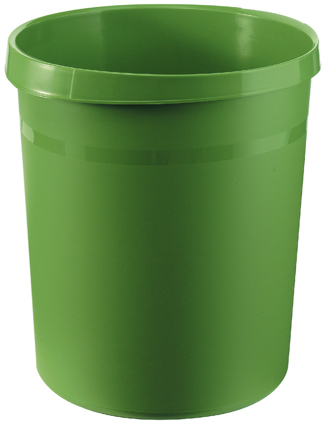 HAN Papierkorb GRIP, 18 Liter, rund, grün