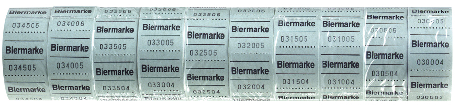 herlitz Biermarken, 30 x 30 mm, 500 Abrisse je ...