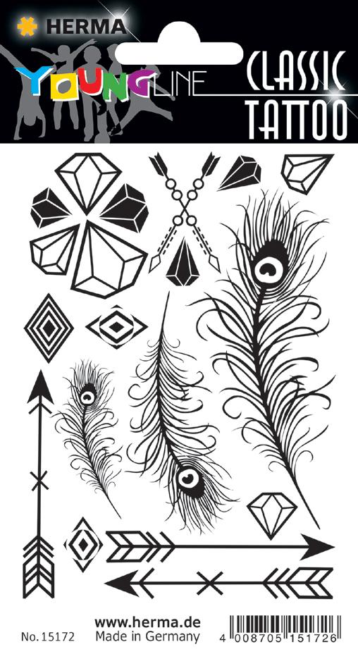HERMA CLASSIC Tattoo ´Black Diamonds´