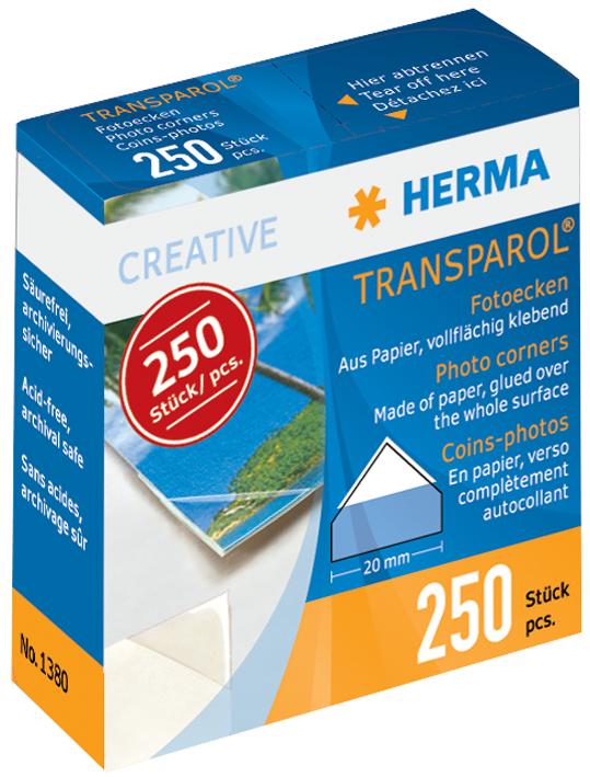 HERMA Transparol Foto-Ecken, extra groß, 2er-St...