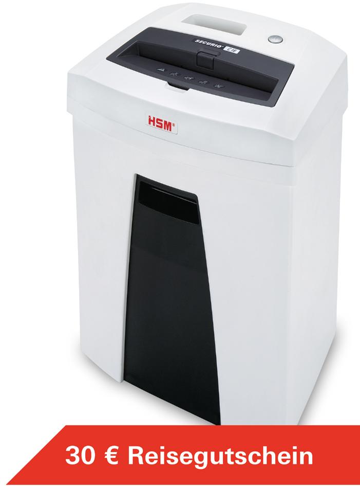 HSM Aktenvernichter SECURIO C16, Partikelschnitt: 4 x 25 mm
