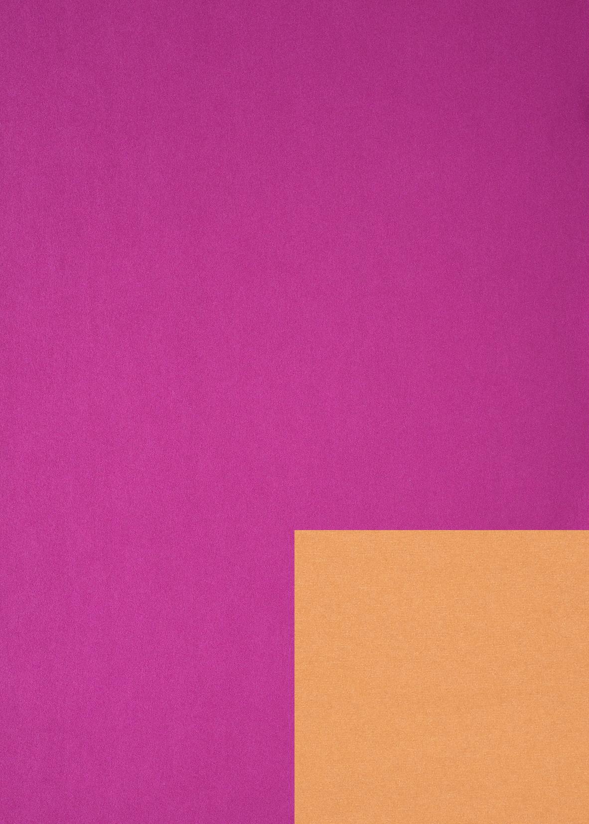 JUNG DESIGN Geschenkpapier ´2 Farben´, pink/orange