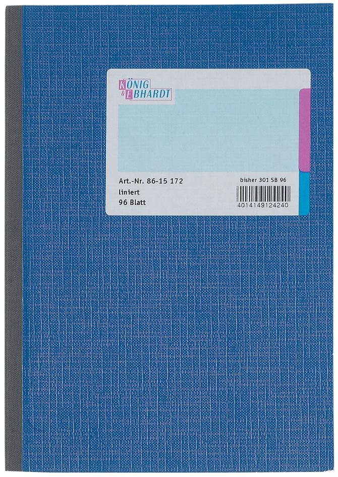 KÖNIG & EBHARDT Kladde, DIN A5, 48 Blatt, kariert
