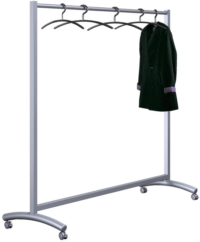 kerkmann Kunststoff-Kleiderbügel, schwarz