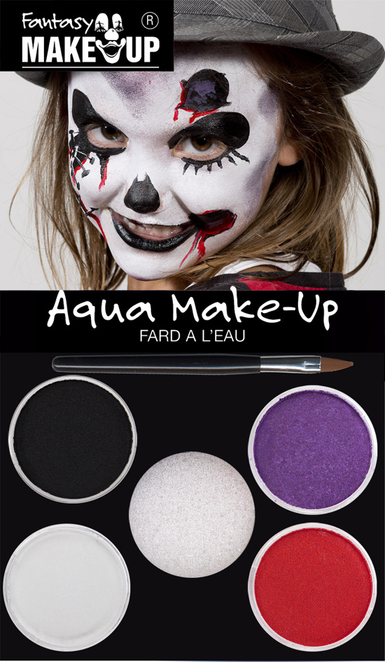 KREUL Schminkfarben-Set ´Fantasy Make Up´, Litt...