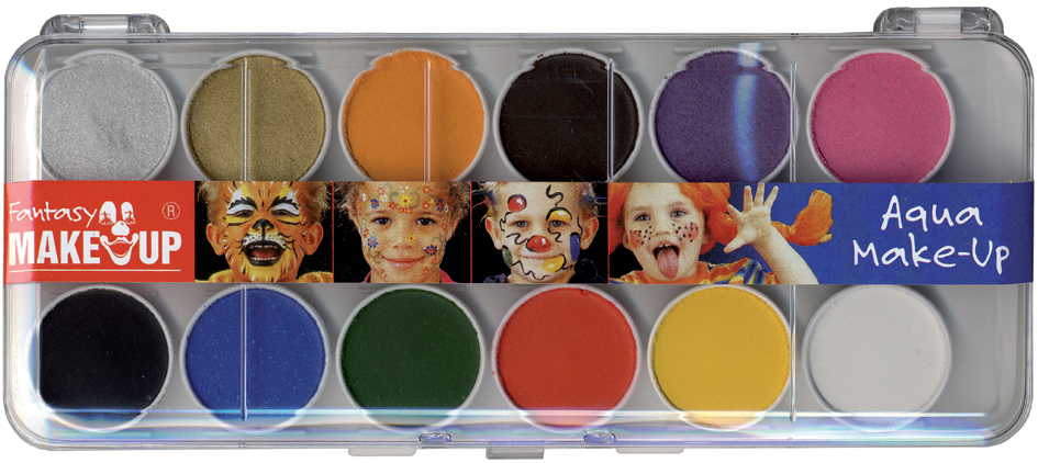 KREUL Schminkkasten ´Fantasy Make Up´, 12 Farben