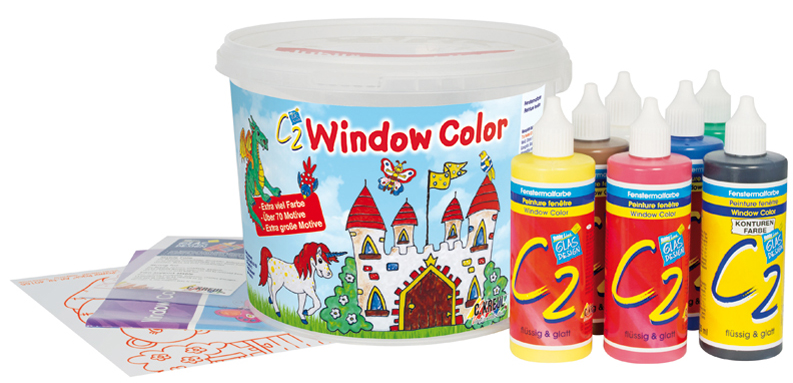 KREUL Window Color Hobby Line ´C2´, Set Power Pack