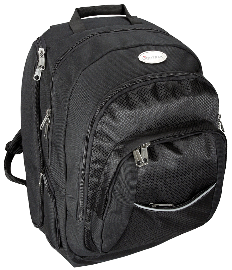 LiGHTPAK Notebook-Business-Rucksack ´ADVANTAGE´, schwarz