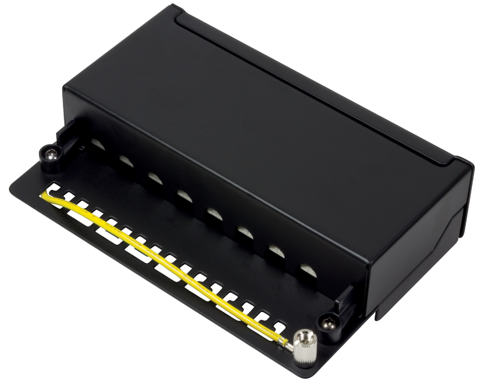LogiLink Desktop Patch Panel Kat. 6A, 8-Ports, ...